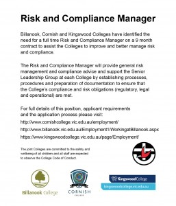 Employment risk and compliance manager cornish college - Compliance officer position description ...