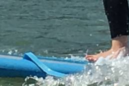 Year 5 Surfing at Wilsons Promontory.