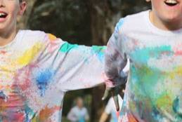 The 'Colour Celebration' during MAD Week 2015.