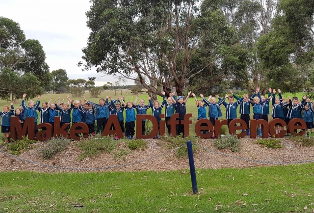 Multi-age mass planting 'Makes a Difference'