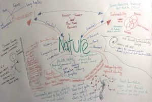 Image of nature mind map