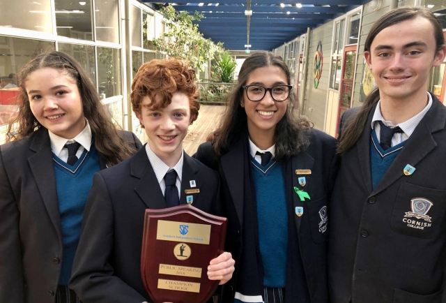 SIS Public Speaking Champions for the Second-Year Running