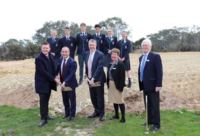 Senior Studies Centre Construction – It's Official