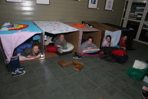 News - Students sleep rough for homelessness - Cornish College