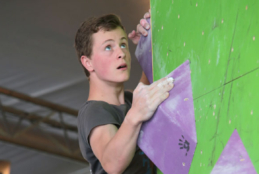 Reaching new heights in sport climbing