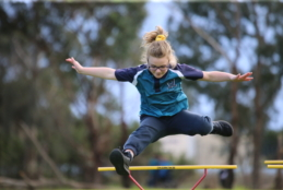 Soaring in the Primary House Athletics