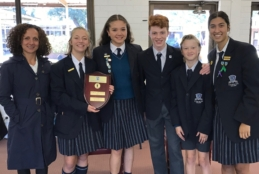 Southern Independent Schools Public Speaking Champions
