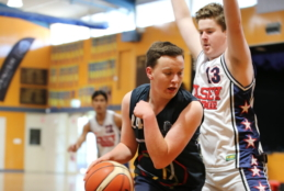 Shooting hoops in the Southern Independent Schools basketball competition