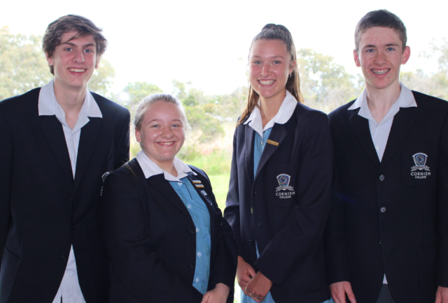 Congratulations to our 2021 College Captains